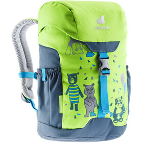 deuter Schmusebär Backpack 8l Kids, kiwi/arctic